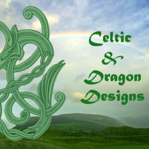 Celtic Design and Dragon Wands